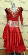 LATIN SALSA COMPETITION DRESS LDW (LT436) only on sale on latinodancewears.com