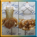 GIRL LATIN SALSA COMPETITION DRESS LDW (LK3)