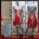 LATIN SALSA COMPETITION DRESS LDW (LS300)