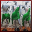 LATIN SALSA COMPETITION DRESS LDW (VL502)