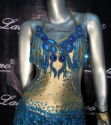 LATIN SALSA COMPETITION DRESS LDW (LT254)