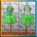 GIRL LATIN SALSA COMPETITION DRESS LDW (LK8)