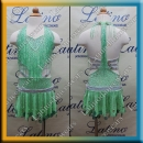 JUNIOR LATIN SALSA COMPETITION DRESS LDW (LK10)