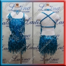 JUNIOR LATIN SALSA COMPETITION DRESS LDW (LK11)