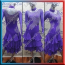 LATIN SALSA COMPETITION DRESS LDW (LT489B)