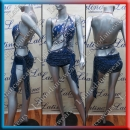 LATIN SALSA COMPETITION DRESS LDW (LT934A)