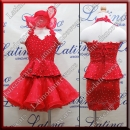 JUNIOR LATIN SALSA COMPETITION 2 IN 1 DRESS LDW (LK14)