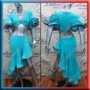 LATIN SALSA COMPETITION DRESS LDW (VL509)