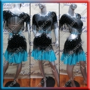 LATIN SALSA COMPETITION DRESS LDW (AL25A)