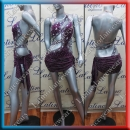 LATIN SALSA COMPETITION DRESS LDW (LT934B)