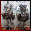 LATIN SALSA COMPETITION DRESS LDW (LS312)