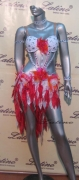 LATIN SALSA COMPETITION DRESS LDW (LS31) only on sale on latinodancewears.com