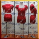 LATIN SALSA COMPETITION DRESS LDW (VL507A)