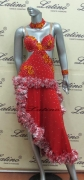 LATIN SALSA COMPETITION DRESS LDW (LS35) only on sale on latinodancewears.com