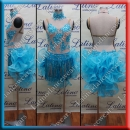 LATIN SALSA COMPETITION DRESS LDW (LT526B)