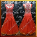 BALLROOM COMPETITION DRESS LDW (ST266C)