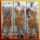 LATIN SALSA COMPETITION DRESS LDW (AL41)