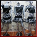 LATIN SALSA COMPETITION DRESS LDW (LT1051)