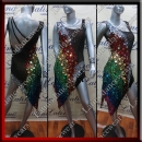 LATIN SALSA COMPETITION DRESS LDW (LS321)