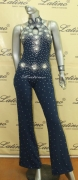 LATIN SALSA COMPETITION CATSUIT LDW (AB23ST) only on sale on latinodancewears.com