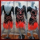 LATIN SALSA COMPETITION DRESS LDW (LT1040A)