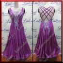 BALLROOM COMPETITION DRESS LDW (ST296A)