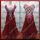 BALLROOM COMPETITION DRESS LDW (ST296B)