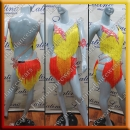 LATIN SALSA COMPETITION DRESS LDW (LS331)