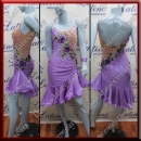 LATIN SALSA COMPETITION DRESS LDW (AL49)