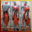 LATIN SALSA COMPETITION DRESS LDW (VL523)