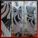 LATIN SALSA COMPETITION DRESS LDW (VL525)
