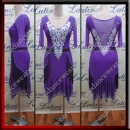 LATIN SALSA COMPETITION DRESS LDW (LT1068A)