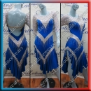 LATIN SALSA COMPETITION DRESS LDW (VL531)