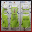 JUNIOR LATIN SALSA COMPETITION DRESS LDW (LK20A)