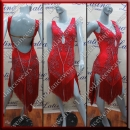 LATIN SALSA COMPETITION DRESS LDW (VL494B)