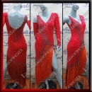 LATIN SALSA COMPETITION DRESS LDW (AL52)
