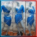 LATIN SALSA COMPETITION DRESS LDW (LT1072A)