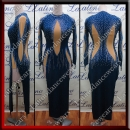 LATIN SALSA COMPETITION DRESS LDW (LT1096)
