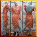 LATIN SALSA COMPETITION DRESS LDW (VL544)