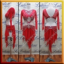 LATIN SALSA COMPETITION DRESS LDW (LT1094)