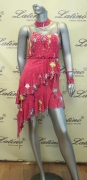 LATIN SALSA COMPETITION DRESS LDW SIZE M (LS88)