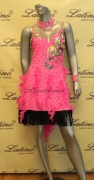 LATIN SALSA COMPETITION DRESS LDW SIZE M (LS112)