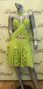 LATIN SALSA COMPETITION DRESS LDW SIZE M (LS157)