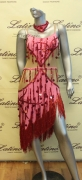 LATIN SALSA COMPETITION DRESS LDW SIZE M (LS161)