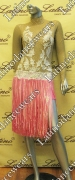 LATIN SALSA COMPETITION DRESS LDW SIZE M (VL293)