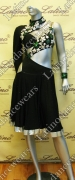 LATIN SALSA COMPETITION DRESS LDW SIZE M (VL318)