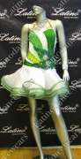 LATIN SALSA COMPETITION DRESS LDW SIZE M (VL328)