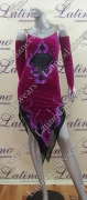 LATIN SALSA COMPETITION DRESS LDW SIZE M (VL361)