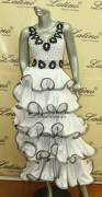LATIN SALSA COMPETITION DRESS LDW SIZE M (LT449)