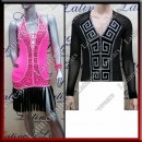 LATIN SALSA COMPETITION FOR COUPLE DRESS-SHIRT LDW (AL17/BA4)